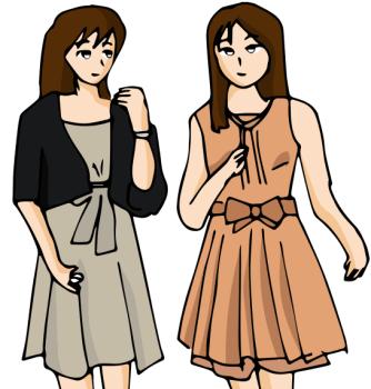 結婚式服装女性02