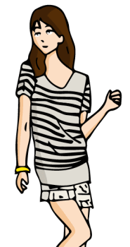 USJデート夏服装レディース01