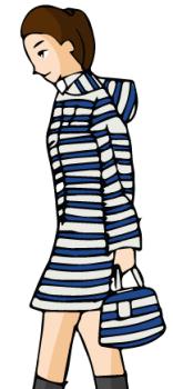 雨の日服装中高生01