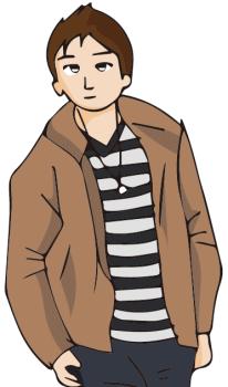 クリスマスパーティ服装男子中学生01