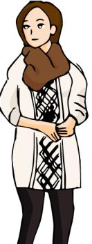 クリスマス服装女子中学生03