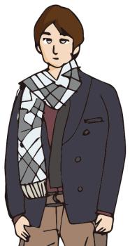 クリスマスパーティー服装高校生男子01